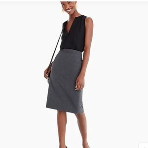 Cricketeer Tailored Pencil Skirt with pockets